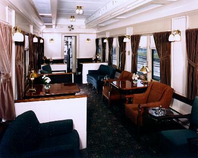 Private Rail Car - Dover Harbor, lounge