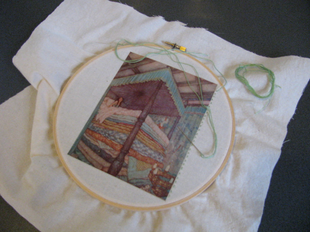 Iron on transfer paper is the best!