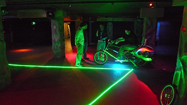 pedal powered led lighting