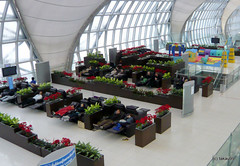 Transfer Lounge, Suvarnabhumi Airport Thailand