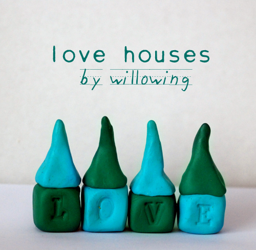 little clay love houses