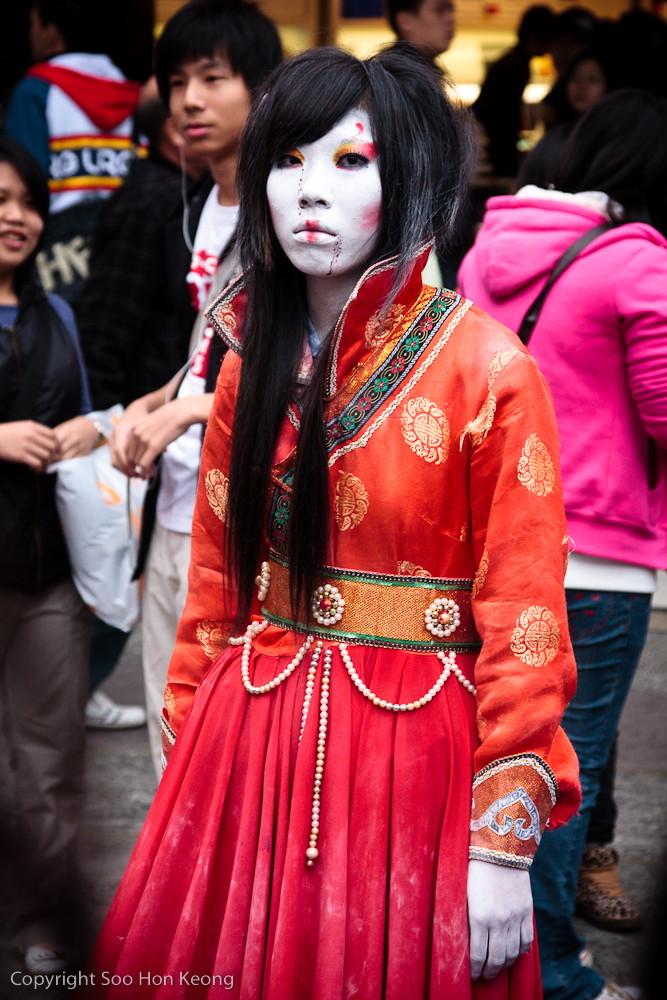 """Ghost"" @ Ximending, Taipei, Taiwan"