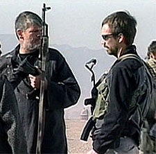 CIA agents in Afghanistan in 2001.