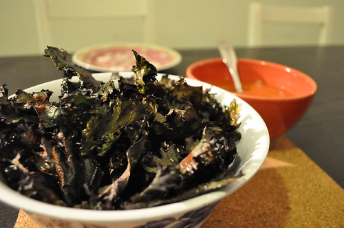 Healthy Kale Chips & Salsa - Standard Process Cleanse Diet