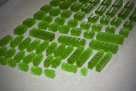 lego mold hard candy sucker