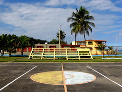 Arecibo, PR (Minno Ramirez) Tags: street city urban color colors architecture landscape island calle colorful paint downtown colours puertorico structures vivid sunny structure arecibo elements urbana caribbean mundane emptiness urbanlandscapes urbanscape urbanlandscape caribe borinquen contemporarylandscape peopleless newtopographics contemporarylandscapes nuevatopografia puertoriconewtopographicsarecibo