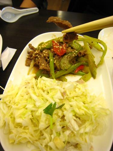 哈爾濱餃王-炒牛肉