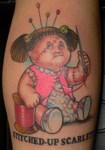 Garbage Pail Kid Tattoo