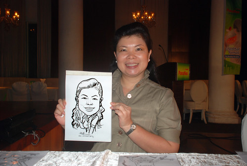Caricature live sketching for GSK -9
