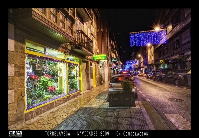 Torrelavega - Calle Consolación - Navidades 2009