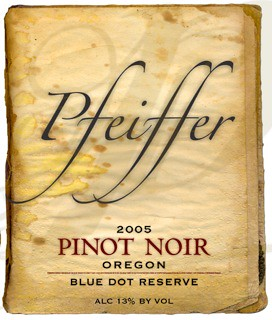 Pfeiffer Pinot Noir at the Oregon Truffle Festiva