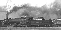 PRR Class CC2s Mallet (0-8-8-0) type, built for the Pennsylvania Lines West of Pittsburgh