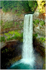 Brandywine Falls, British Columbia (moonjazz) Tags: waterfall canada britishcolumbia brandywinefalls nature water beauty cliff wilderness travel vacation landscape power wonder best geology whistler northamerica view hike green tumble