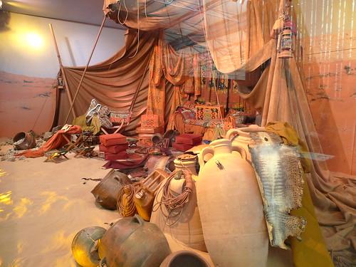 Vitrines Hermes par Leïla Menchari - Salon Maison&Objet- janvier 2010