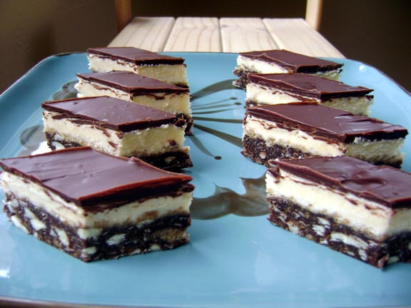 Daring Bakers January: Gluten-Free Graham Wafers and Nanaimo Bars
