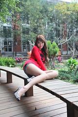 歡歡 @ 台大法商 0984 (^o^y) Tags: woman girl lady asian model taiwan showgirl ntu sg taiwanese 美女 台大 外拍 麻豆 性感 辣妹 模特兒 美眉 歡歡 台大法商 趙小妍