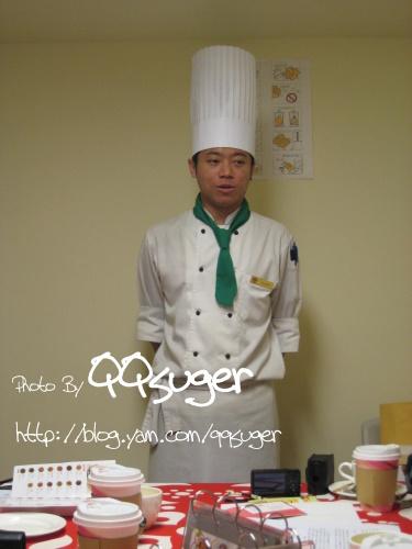 你拍攝的 主廚。