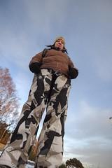 Land of the 5ft Giants (Derek666) Tags: uk winter sky snow ice photoshop scotland highlands nikon aberdeenshire royal wideangle aberdeen dslr 1224mm deeside cs4 grampian peterculter d5000