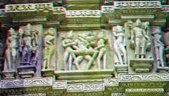 India 1001b_A (Ian5281) Tags: india stereogram 3d erotic anaglyph stereo khajuraho
