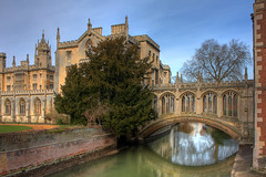 The Bridge of Sighs, Cambridge, England (**Anik Messier**) Tags: uk greatbritain bridge cambridge england college britain coveredbridge bridgeofsighs stjohnscollege soe cambridgeshire blueribbonwinner camriver bej shieldofexcellence anawesomeshot henryhutchinson artistspick welcomeuk