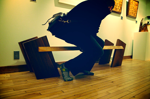 Don't Sit on the Friggin' Art 2010.30.1