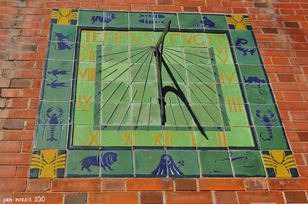 Van Briggle Tile Sundial