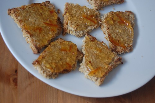 oatcakes with marmalade