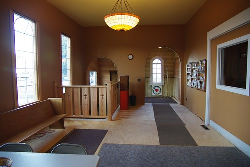 Concordia Narthex, Before Floor