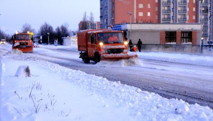 Raeumfahrzeuge Schnee