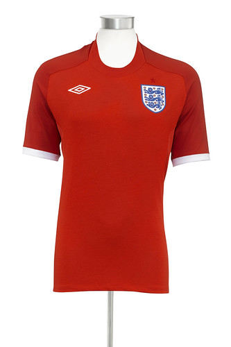 2010 World Cup Away england Kit