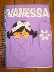 Meu caderno de planejamento! (Vanessa Galdino) Tags: eva
