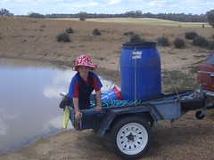 020nelson filling up water tank for olives