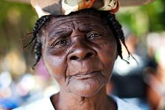 Old Haitian Woman (Dan. D.) Tags: old portrait woman black canon haiti dominican republic dof 5d mkii