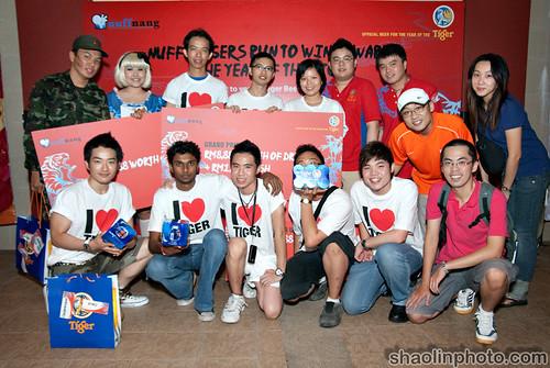 Tiger Run Winners