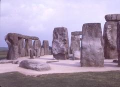 Sarsen Stones at left