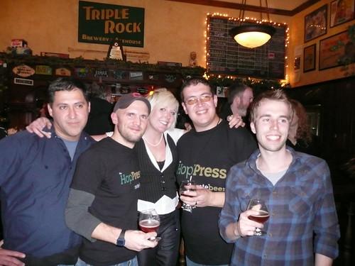 Rate Beer's Hop Press staff