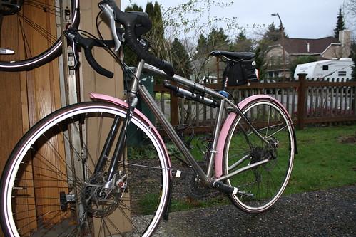 Pink Fenders