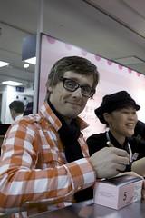 Morten Heiberg, Salon du Chocolat Tokyo 2010, Shinjuku Isetan