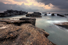 Stairwell Above Gray, Mengening Seascape (tropicaLiving - Jessy Eykendorp) Tags: bali seascape nature canon indonesia landscape jessyce