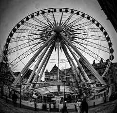 Project 365 Day 46: Fish Eye Big Wheel (Greg McMullin) Tags: carnival blackandwhite bw blancoynegro oneaday rain contrast blackwhite soft fairground jobs sony sheffield yorkshire highcontrast wideangle adobe photoaday ferriswheel nik 365 bigwheel hdr pictureaday fisheyelens lowangle fairgroundride fargate dullday photomatix chromaticabberation sheffieldcitycentre project365 adobelightroom lensdistortion bwhdr colorefexpro 46365 project3651 niksoftware descisions rainonlens livinginhope tonalcontrast singlephotohdr sheffieldcitycenter sheffieldcity starquake minoltaamount maxwider highstructure sonyalpha350 screwonfisheye 150210 silverefexpro colourefexpro fairgroudride thesheffieldwheel thesheffieldeye 3652010 project36612010 sheffieldsbigwheel dontwanttomovetomanchester project365150210 urghihatethislens fargatewheel softascreamcheese