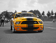 Shelby GT500 Super Snake (Robin Kiewiet) Tags: auto summer orange black classic cars ford netherlands car race america photography rotterdam nikon memorial automobile track power very muscle snake stripes united performance fast indiana automotive super racing gone special henry american shelby vehicle hertz states kr mustang 500 gt eleanor 54 2009 maarten 60 colouring v8 oval goodyear seconds gth ahoy 1965 supercharged selective the gt500 carrol d80 supersnake 605bhp