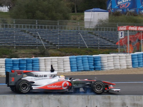 McLaren. Lewis Hamilton