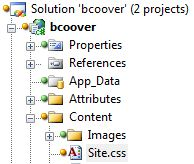 VisualSVN Solution Explorer