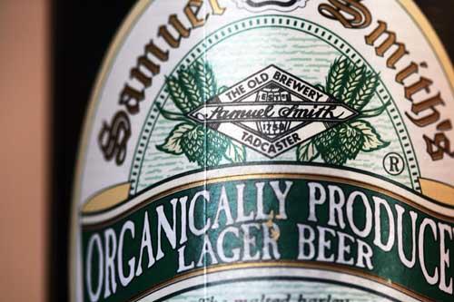 organic beer... booyah