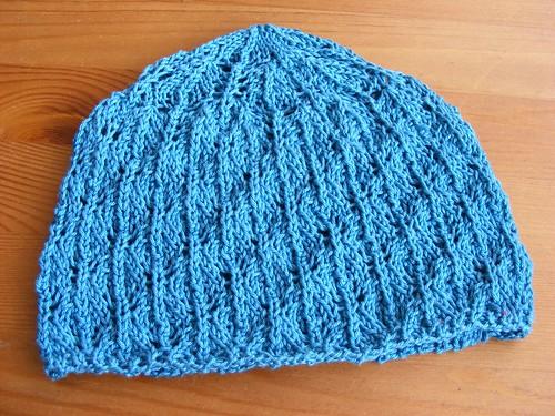 czapeczka niebieska