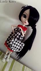 Pullip Naomi - Shannon (Denise Borba) Tags: branco tudo doll style ps preto shannon naomi pullip xadrex combinando