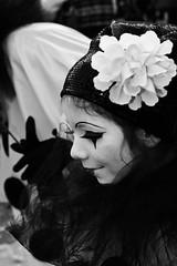 carnival @ Venice (el_mo) Tags: carnival venice woman baby white man men girl hat mask blac carnevale venezia 2010 maschere piume