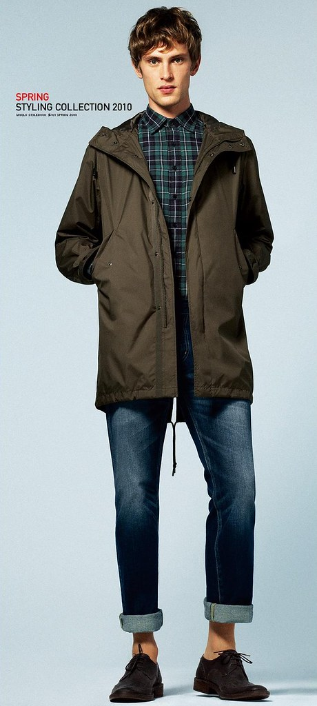 UNIQLO 0256_LOOK BOOK 2010 SPRING_Mathias Lauridsen