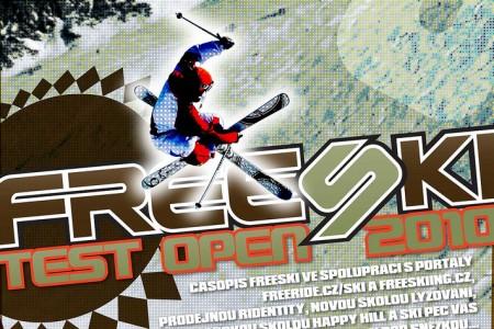 Testujte na FREESKItest Open 2010 v Peci Pod Sněžkou!