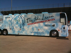 John Lennon Educational Tour Bus in Yukon, Okl...
